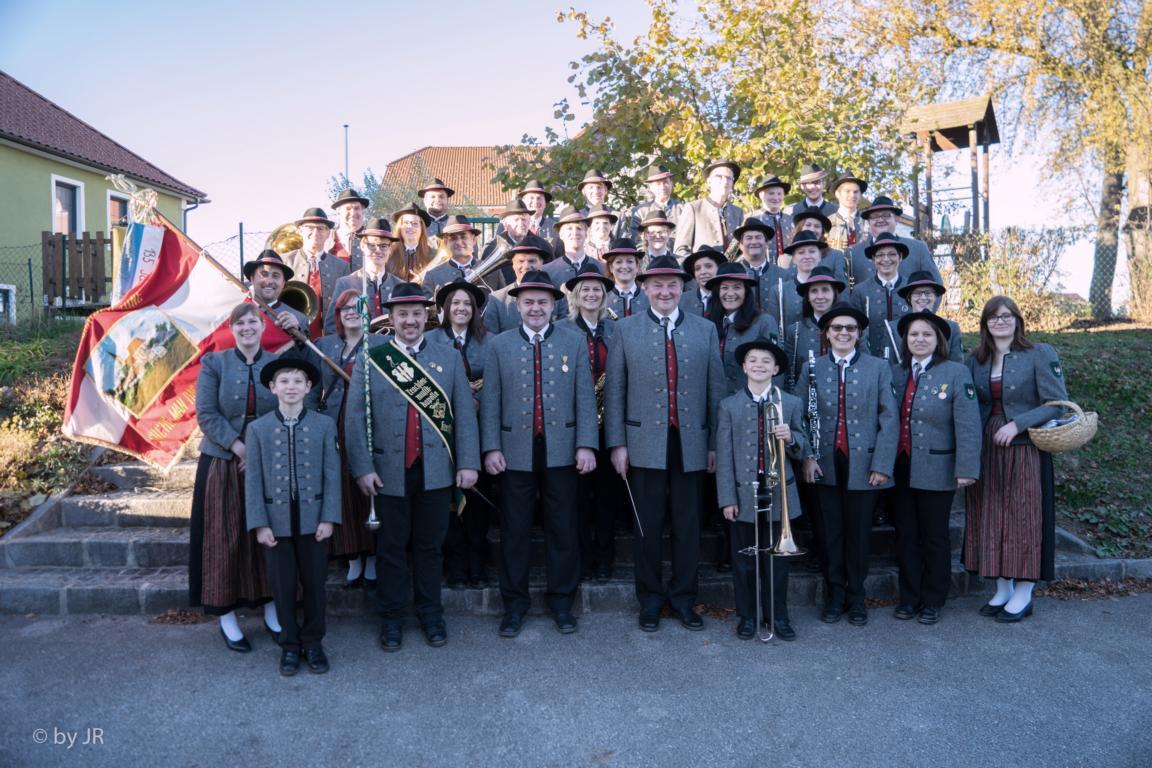Gruppenfoto des GMV Krenstetten im Jahre 2015