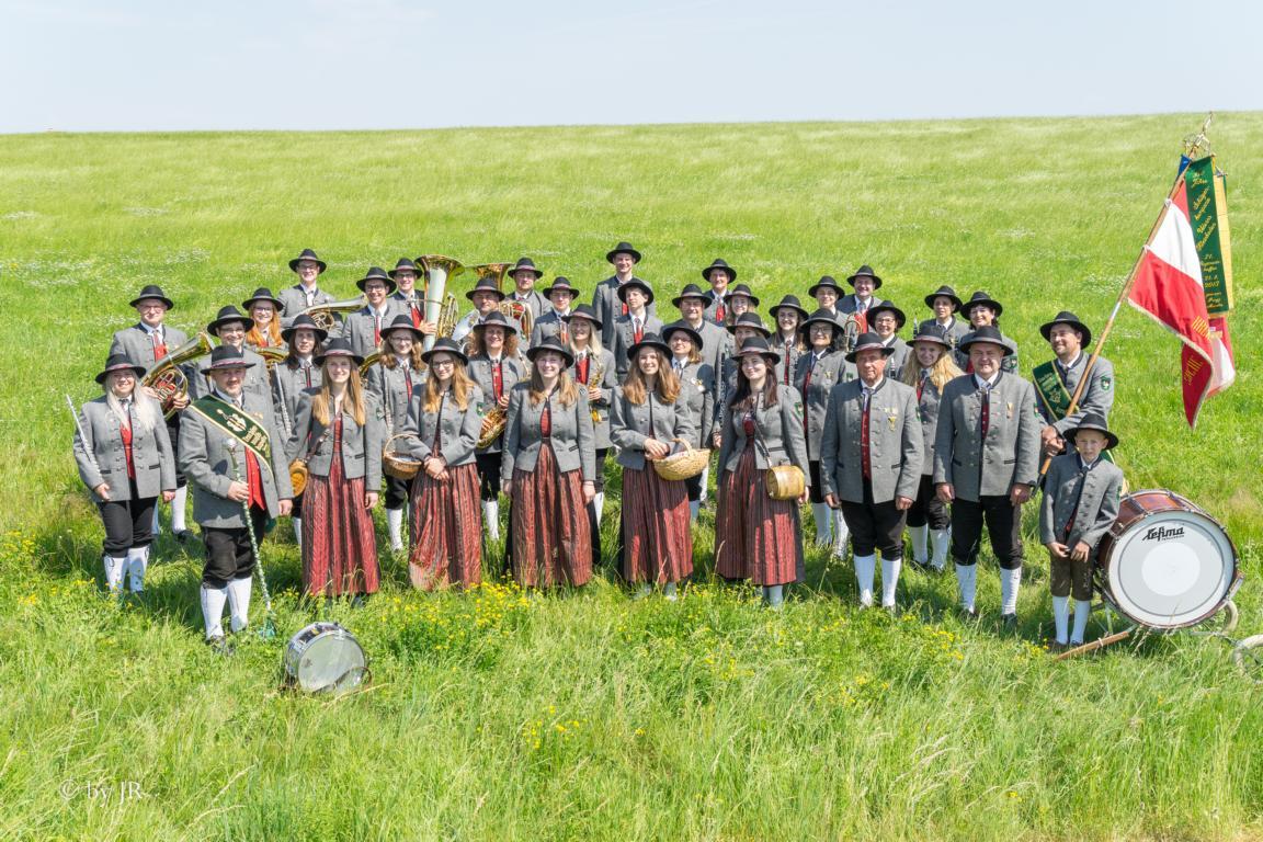 Gruppenfoto des GMV Krenstetten im Jahre 2019